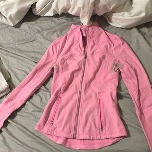 Lulu lemon hot pink zip Up size 2